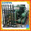 Screw Compressor Condensing Unit with Evaporative Condenser