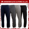 Custom Made Wholesale Cheap Black and Grey Jogger Sweatpants (ELTJI-26)