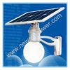 Cool White 12W LED Solar Garden Lamp