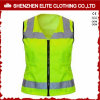 Professional Safety Uniforms Workwear Green Safety Vest Reflective (ELTHVVI-5)