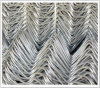 PVC Coated Chain Link Fence/Diamond Wire Mesh/Diamond Link Fence