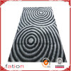Anti-Slip Home Area Rug Polyester L 3D Shaggy Carpet/Rug
