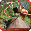 Theme Park Decoration High Simulation Animatronic Spider