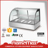 Curved Glass Warming Showcase 3-Pan (HW-838-3)