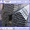 Black Scaffolding Steel Pipes with Scaffolding Clamps