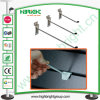 Slatwall Supermarket Hook/Chrome Slatwall Supermarket