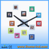 Colorful DIY Photo Frame Wall Clock for Home Decoration (IH-4481)