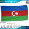 Azerbaijan Flag Polyester Fabric (NF05F09084)