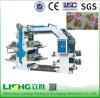 Stack Type 4 Color High Speed Nonwoven Fabric Printing Machine