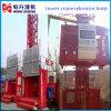Double-Cage Construction Hoist for Sale by Hstowercrane