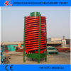 High Quality Gold Spiral Chute with ISO Certificate