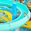 Open Fiberglass Spiral Water Slide (WS017)