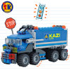 Kids 163PCS Plastic 4 Shape Truck Blocks Toy
