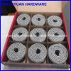 45# Steel Heat Treated Plastic Coated Coil Nail for Australia Market