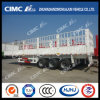 High Quality 3 Axles Cimc Huajun Double-Stake Semi-Trailer