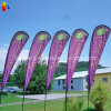 Teardrop Flying Beach Flag with Banner Printing