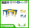 Adjustable Children Furniture School Table with Plastic Chairs (SF-18C)