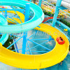 Fiberglass Spiral Water Slide with Skin Raft
