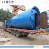 8ton Tire Refining Pyrolysis Machinery Getting 35-50% Oil