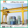 Harbour Rail Mounted Container Gantry Crane with Diagram