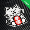 Wholesale Japanese Style Money Cat Adhesive Sticker