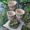 Wood Handmade Flower Planter Wood Flower Pot for Home
