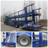 Utility Two-Tier Car Carriage Semi Truck Trailer