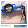 Four Ears Wafer Center Butterfly Valve with Handle Bct-Wbfv-18