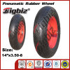 DOT CCC SGS 3.50-8 Wheel Barrow Rubber Wheel.