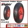 DOT CCC SGS 3.50-8 Wheel Barrow Rubber Wheel.