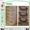 4 Layer Floor Standing Wire Basket Display Rack