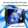 AV/VGA/HDMI/DVI Input 10.4 Inch TFT LCD Monitor