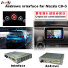 Car Upgrade Multimedia HD Android GPS Navigation Video Interface for 14-16 Mazda Cx-3