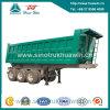 3 Axle 80 Ton 25cbm /30cbm /35cbm /40cbm Tipper Semi Trailer