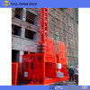 Double Cage Sc200/200 Galvanized Construction Elevator