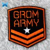 Laser Cut Military Embroidery Patch Sew on