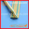Yellow and Green Stripped Heat Shrink Tubing