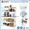 Light Duty Adjustable Chrome Metal Wire Kitchen Shelf Rack