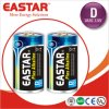 Over 2200 Mins′ Duration High Discharge Rate Lr20 D Alkaline Battery with Eastar Factory