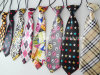 Wholesale Cheap Fashion School Uniform Boys Ties with Elastic Cord