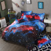 Galaxy Night Sky Collection Microfiber Home Textile Bedding Set