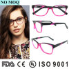 New Model Italian Acetate Eyewear Double Colors Optical Eyewear Frame with Ce