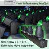 80W 4 Head RGBW CREE LED Moving Head LED Light