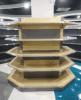 High Grade Metal Display Shelf for Corner