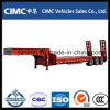 Cimc 3 Axles Low Bed Semi Trailer