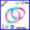 Wholesale Custom Rubber Bands Hollow Silicon Bracelet