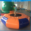 Inflatable Trampoline D=3m for Water Park Games PVC Material