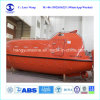 25 Man Fire-Resistant Totally Enclosed Lifeboat with Davit