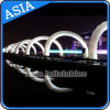 Advertising LED Inflatable Arch/The White Inflatable Arch with LED