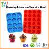 FDA Silicone Muffin Cake Mold Trays